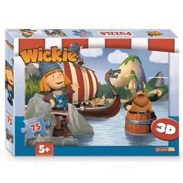 Studio100 3d puzzel Wickie de Viking 75 stukjes vanaf 5 jaar