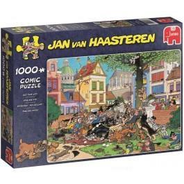 Jumbo Jan van Haasteren puzzel Pak de Kat 1000 stukjes