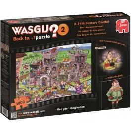 Puzzel Wasgij Back To 2 het 14e eeuws kasteel 1000 stukjes