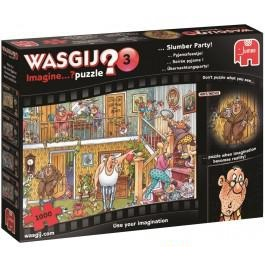 Jumbo Wasgij Imagine 3 Puzzel Pyama feestje 1000 stukjes
