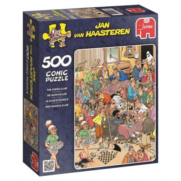 Puzzel Jan Van Haasteren De Schaakclub (500) 500 stukjes vanaf 8