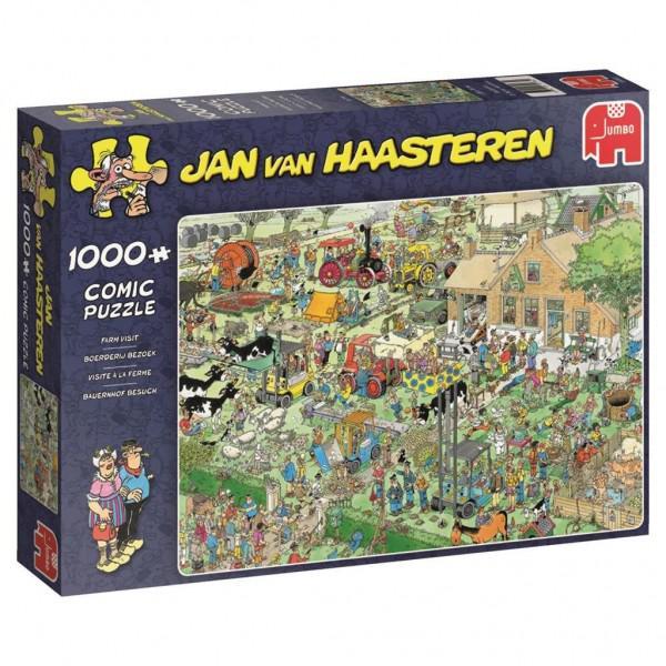 Jan Van Haasteren Boerderij Bezoek 1000 stukjes