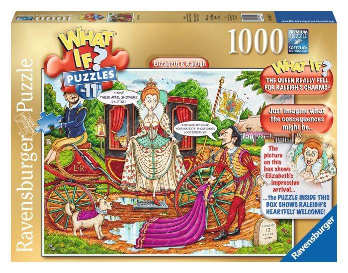 What if 11 puzzel elisabeth en raleigh 1000 stukjes