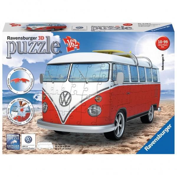 Ravensburger Puzzel 3D VW Bus (162) 162 stukjes