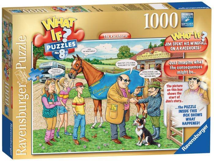 What if 8 de Paardenrace 1000 stukjes