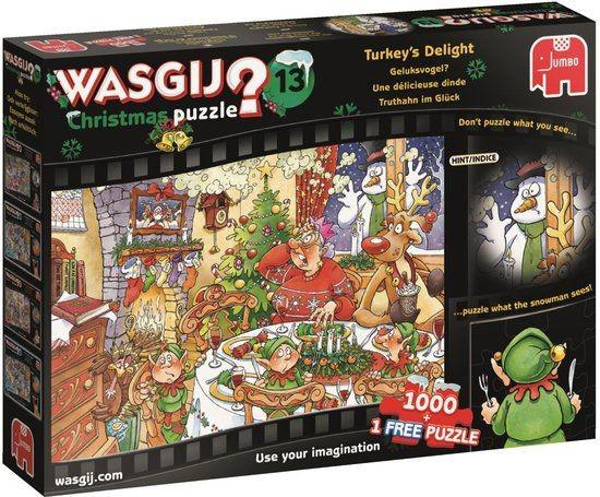 Wasgij Puzzel Christmas 13 Geluksvogel 1000 stukjes