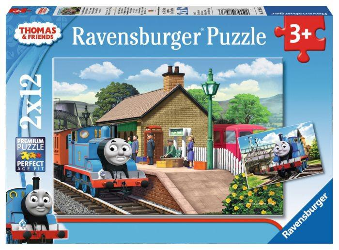 Ravensburger Puzzel Thomas de Locomotief 12 stukjes vanaf 3 jaar